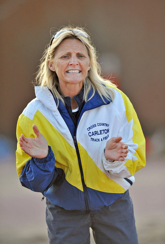 Donna Ricks, women's track and field