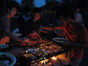 Yakiniku party, fall 2008