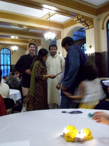 Diwali Celebration in Great Hall, 2008