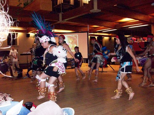 Day of The Dead Dancer Aztec Dancers at Day of The