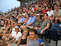 Attendees at Washington Nationals baseball game.