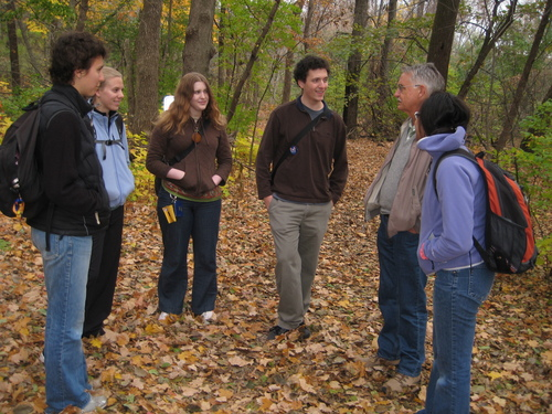 Nature writing class in Upper Arb