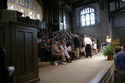Classes gather in the Chapel for Reunion Convocation