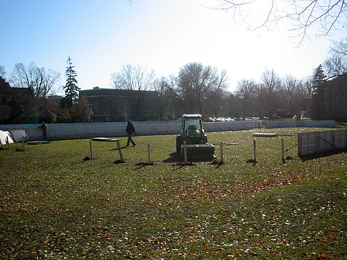 Ice Rinks in Fall