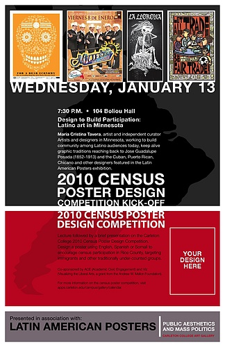 2010 Census Poster Design Competition Submission Deadline