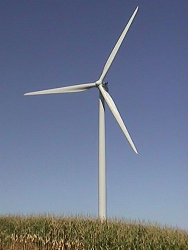 Carletons wind turbine