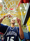 Jeremy Sutherland - men's basketball action