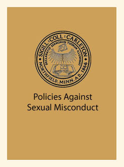 Policies Against Sexual Misconduct