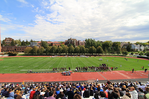 Laird Stadium Crowd, Football