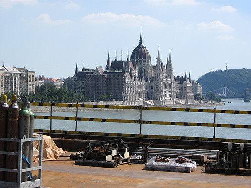 Parliament from Bridge