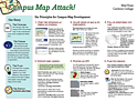 Campus Map Attack! Poster