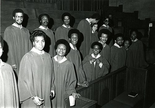 1975-76 Black Choir