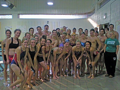 Baldwin Wallace Yellow Jackets Swimming Diving With Baldwin Wallace Cross Country Team