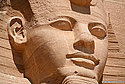 Ramses II sculpture, Temple at Abu Simbel