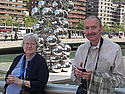 Margaret and Bob at the Guggenheim