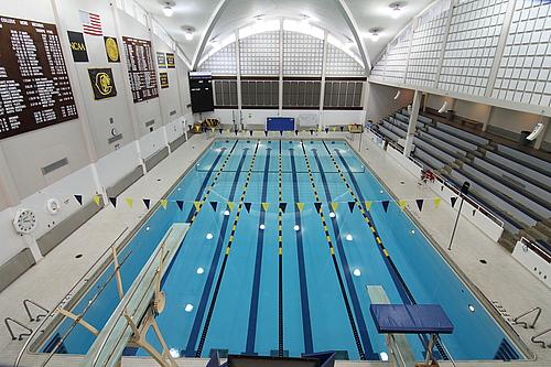 thorpe pool varsity athletics carleton college