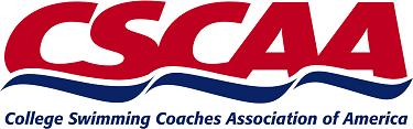 CSCAA (College Swim Coaches Association of America) logo