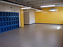 Women's locker room expansion