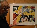 Students were privileged to hear artist Roger Shimomura speak about his work