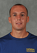 Joe Hartwell, men's soccer headshot