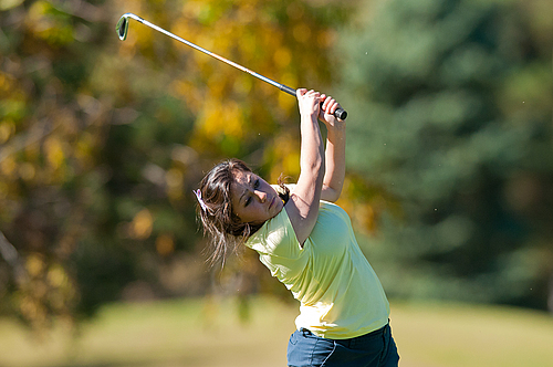 Gina Kabasakalis, women's golf