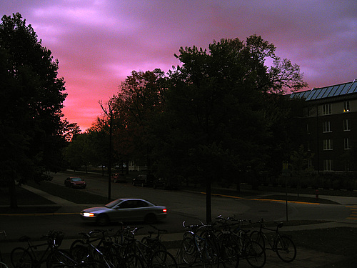 Sunset outside of Watson