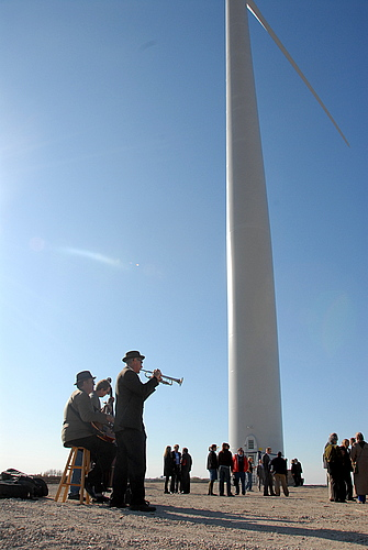 wind turbine dedication