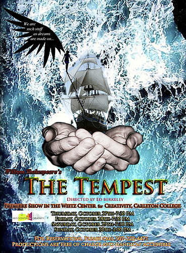 william shakespeares the tempest an allegorical tale of life in the theater The life and times of william shakespeare between 1608 and 1612, shakespeare wrote several plays — among them the winter's tale and the tempest — presumably for the company's new indoor blackfriars theater, though the.