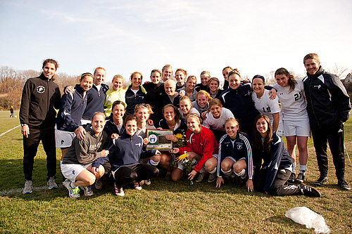 MIAC co-champs, women's soccer action