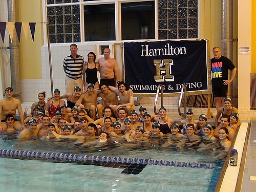 Carleton College Varsity Athletics Hour Of Power Relay 2011 Other Swim Teams Hamilton College