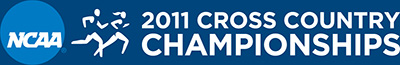 2011 NCAA Cross Country Championships Logo (banner)