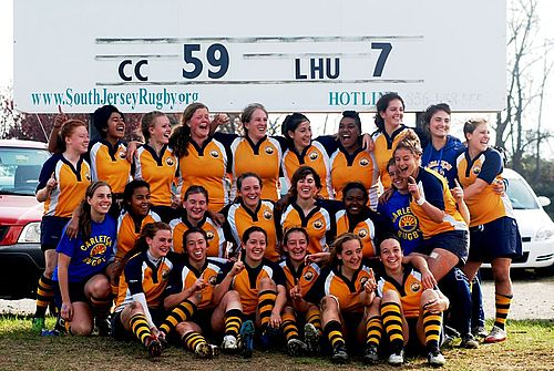 Carleton College Women's Rugby-2011 National Champions