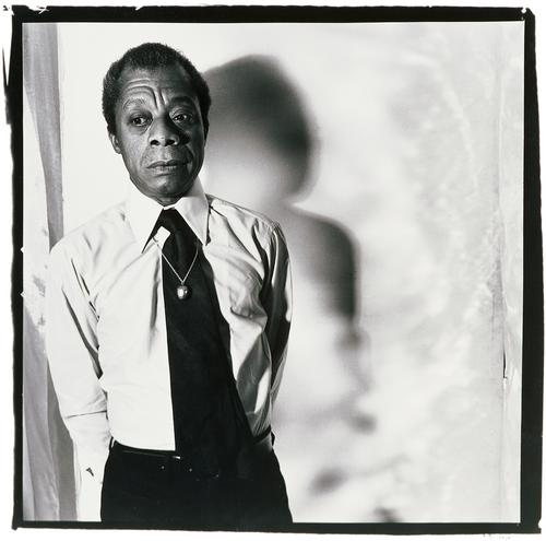 Anthony Barboza: James Baldwin