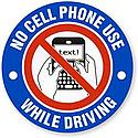 No cell phone use, seat belts must be used by all and speed limit is 15 MPH on campus.