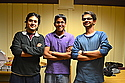 Bibek Babu Pokharel '15, Raghav Chandra '14 and friends