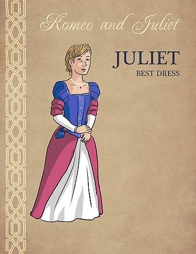 Juliet Costume Color