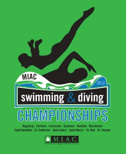 2012 MIAC Swimming & DIving Championships logo