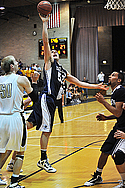 Caleb Rosenow, Men's Basketball Action