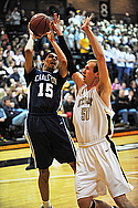Shane McSparron, Men's Basketball Action