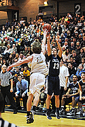 Danny Geiger, Men's Basketball Action
