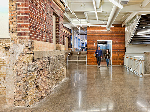 Weitz Center Brickwork