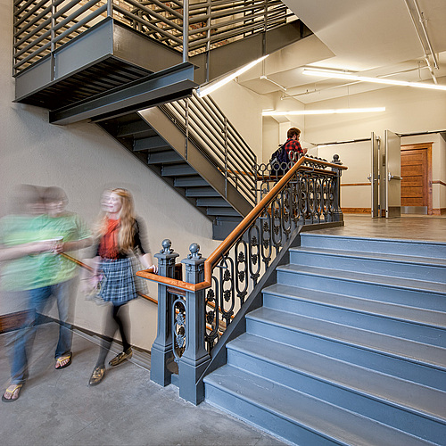 Weitz Center Stairwell
