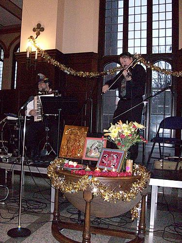 Musical Performance at Purim/Holi Celebration