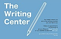 Writing Center: Gen'l Info
