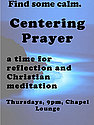 Centering Prayer Spring 2012 Event Poster