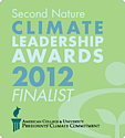 Second Natre Climate Leadership Awards 2012