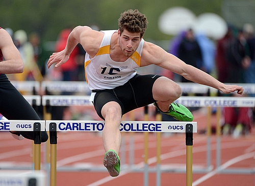 Adrian Carpenter, men's track & field action