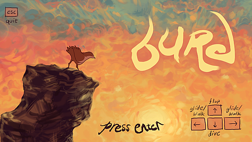 burd title screen