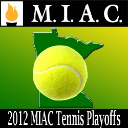 Tennis: 2012 MIAC Playoffs logo