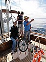 Baja by Schooner at sea lesson